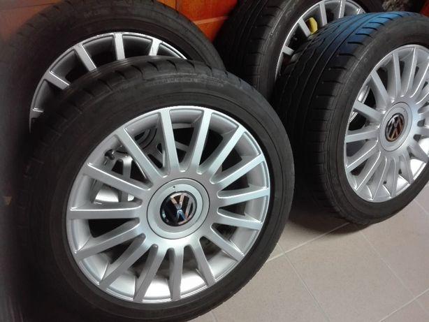 Alu R17 245/45 VW Audi orginal 5x112 dunlop sp sport 01