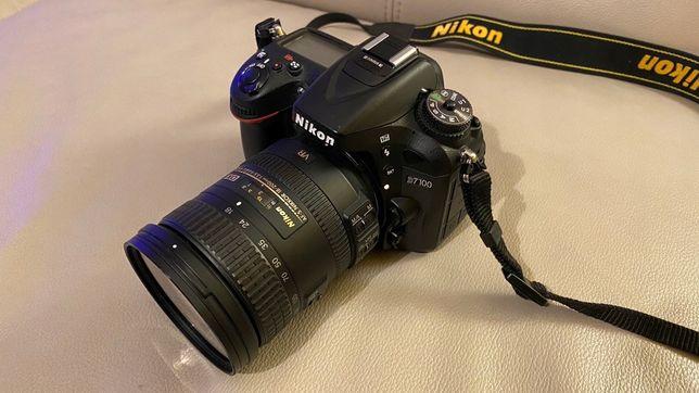 Nikon D7100 + Nikkor 18-200mm + Nikkor 35mm + Nikon SB900 , zamiana !