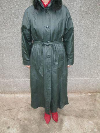 Пальто из НАТУРАЛЬНОЙ КОЖИ женское,новое ТОРГ