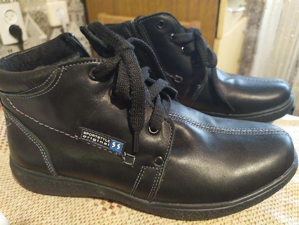 Ботинки зима 36 мальчик