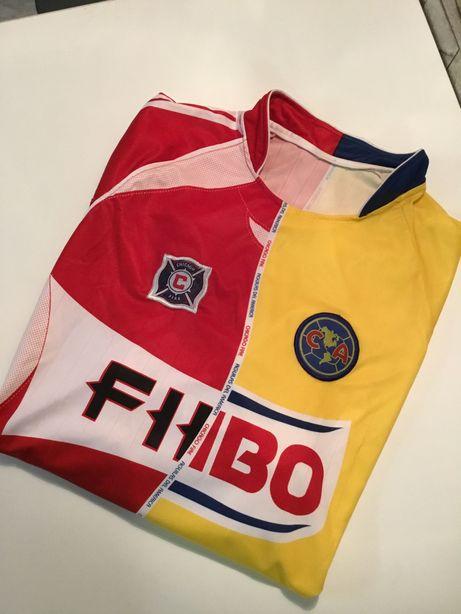 Koszulka Chicago fire club america pilka nożna Unikat gratka retro