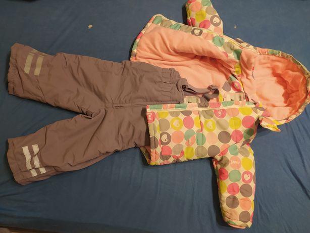 Cool club kurtka i spodnie zimowe r. duże 92 kombinezon smyk