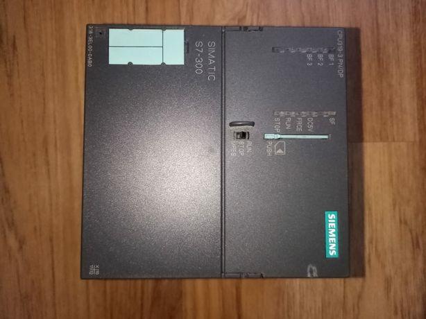 Sterownik PLC Siemens S7-300 CPU319-3PN/DP 318-3EL00-0AB0, karta pam.