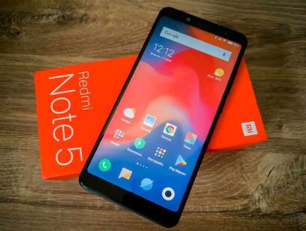 "Xiaomi Redmi Note 5 3/32GB 4/64GB Black 5.99"" 4000мАч новый оригинал"