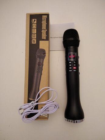 Mikrofon karaoke, bluetooth, bezprzewodowy z głośnikiem 15 watt