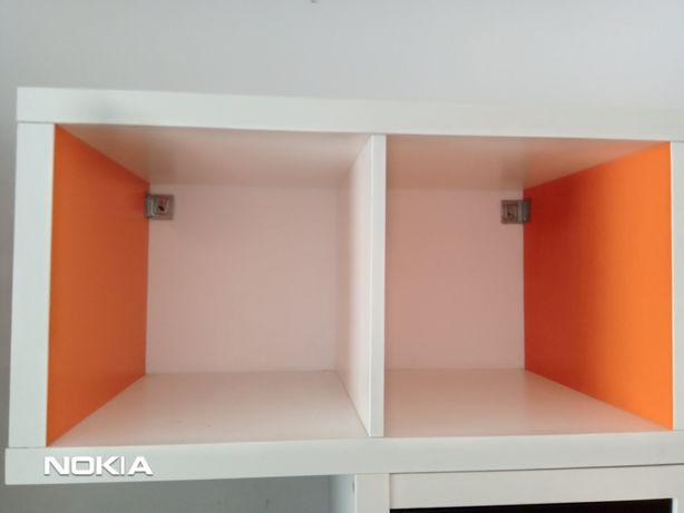 Regał podwójny kallax IKEA