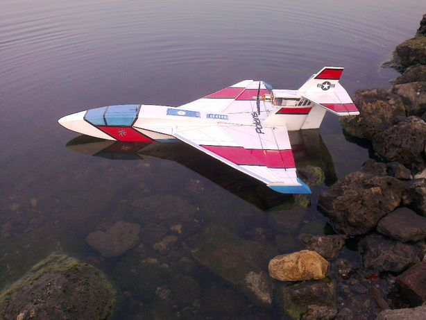 "Samolot hydroplan ""Polaris"" RC"