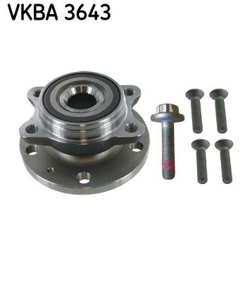Подшипник ступицы передний SKF VKBA 3643