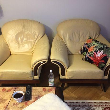 ponadczasowa sofa Kler 3 osobowa z 2 fotelami