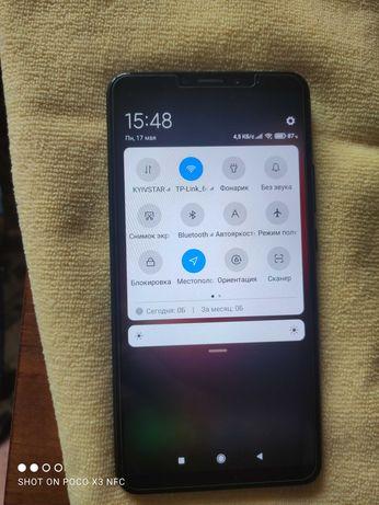 Mi Max 3  4/64  телефон отличный