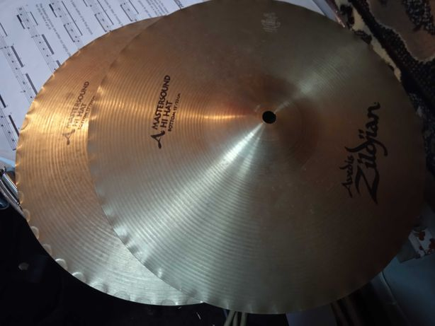 "Hi hat Zilidijan Avedis Mastersound 13"" 2xBottom"