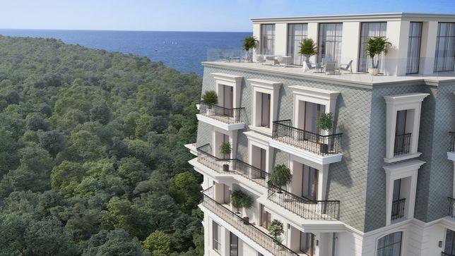 4к с террасой в новом Доме Каркашадзе! 500м от моря