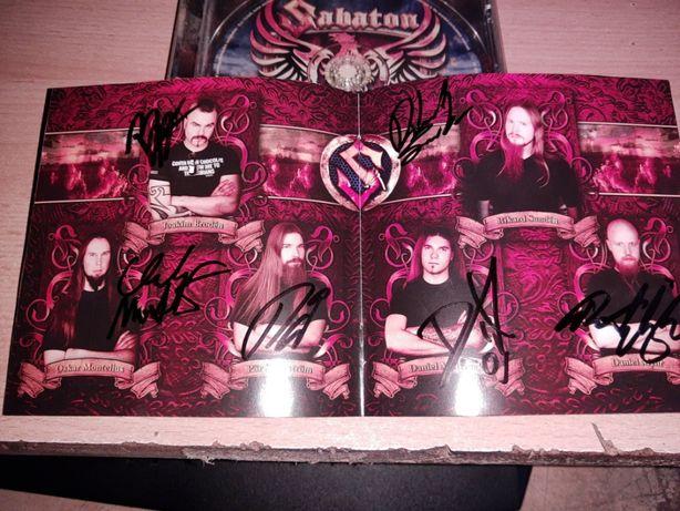Sabaton - Coat of Arms CD Unikat Autografy