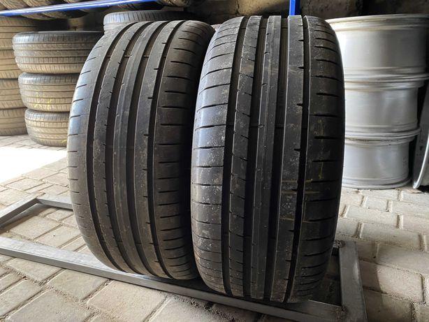 лето 245/45/R17 6,6мм 2016г Dunlop Sport MAXX RT 2 2шт резина шины