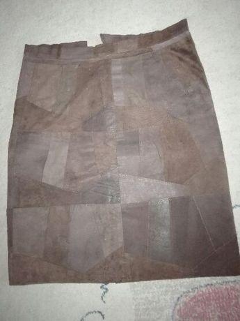 Spódnica zamszowa M-ka