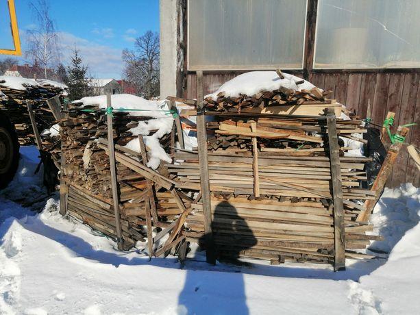 Drewno opałowe/rozpałkowe suche dąb buk