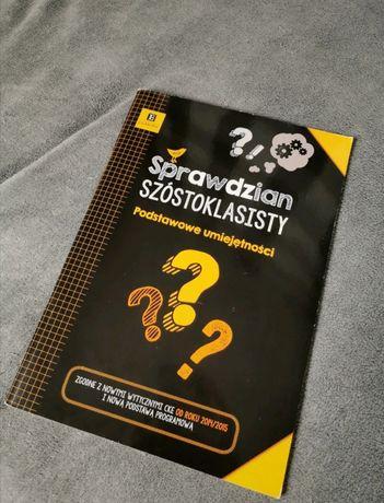 """Książka """"Sprawdzian szóstoklasisty"""" podstawowe umiejętności"""