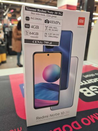 Telefon Xiaomi Redmi Note 10 5G !! Blue !! 64 GB !!