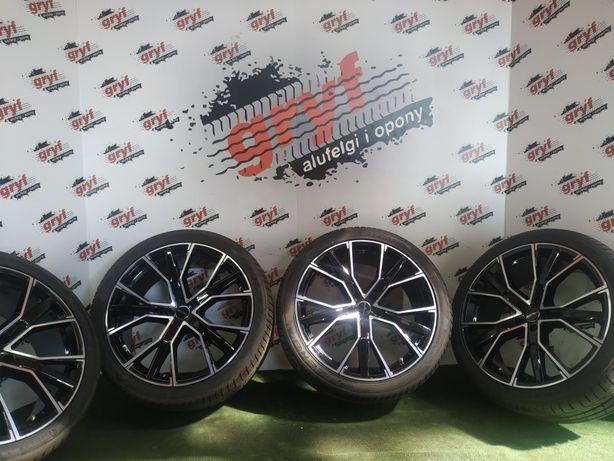 Alufelgi 21 cali 5x112 Audi VW Mercedes, opony Pirelli 275/35/21 nowe