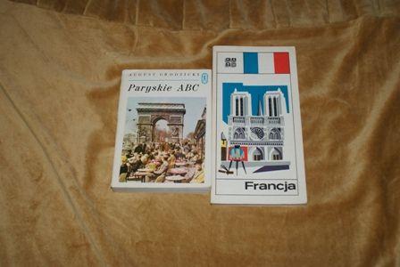 Francja mały przewodnik turystyczny plus Paryskie ABC