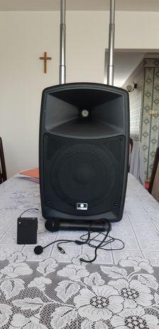 Mobivox mobilny zestaw nagłośnieniowy karaoke bluetooth USB mp3 sd gwa