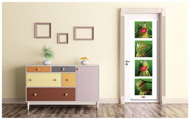 plakat z Kermitem muppety Kermit 160cm x 50 cm