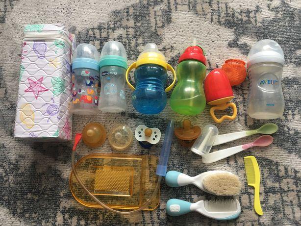 Набір для новонародженого, годування