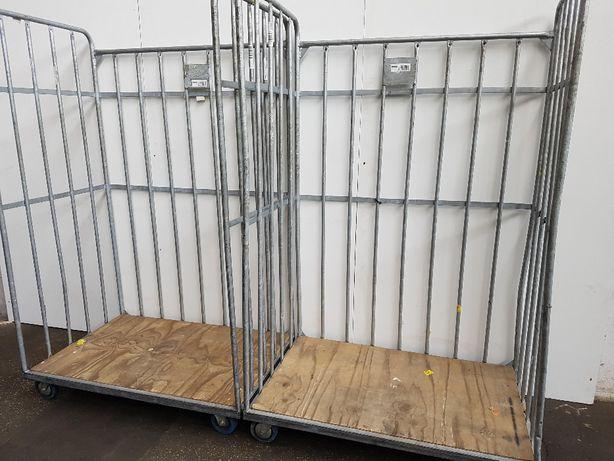 Wózek DUŻY 120x80x190cm Transportowy Platforma 3 SCIANY - OKAZJA.