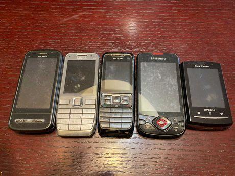 Telefony Nokia C6,E52,E51