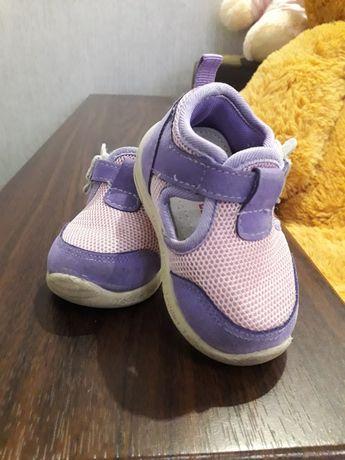 Тапочки кроссовки для малышки