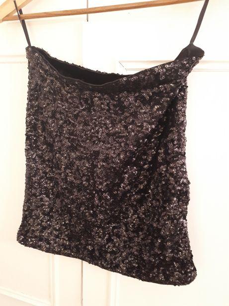 Spódnica w cekiny vero moda