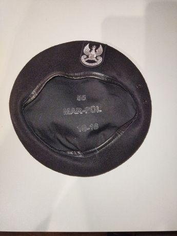 Beret wojsk specjalnych ws czarny 55