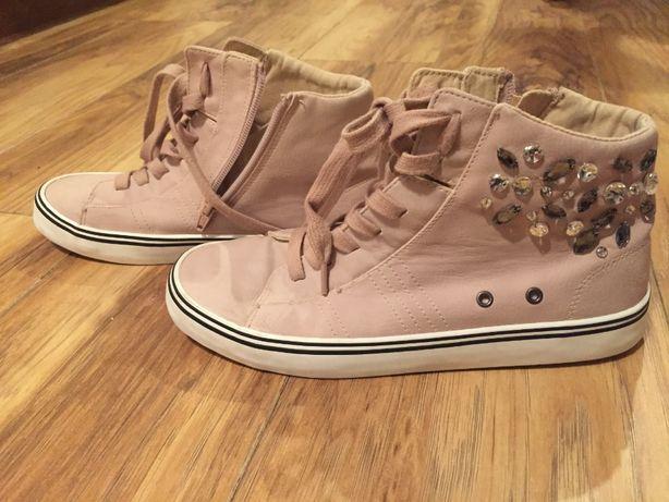 Buty sportowe trampki dziewczęce ZARA 38