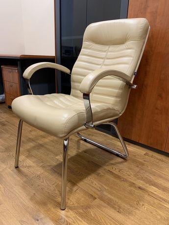 Кресло из натуральной кожи Orion Steel, премум. Кресло руководителя
