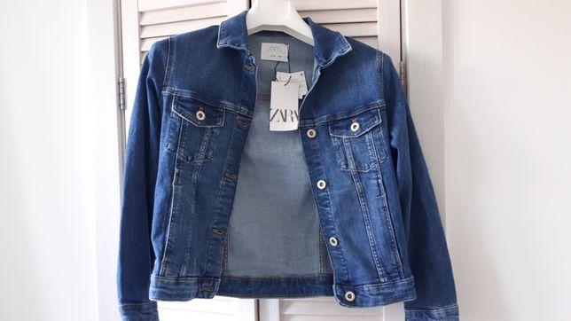 джинсока куртка для дівчинки 10-12років