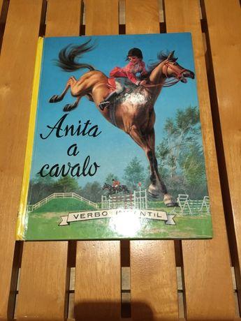 ## livro antigo Anita a cavalo – verbo infantil ##