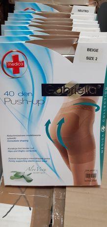 Rajstopy przeciwzylakowe  gabriella medical  modelujace push-up 40 den