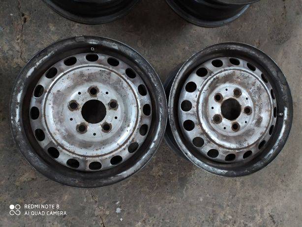 Металеві диски R15 5*112 стальные диски Р15 5*112 диски vito
