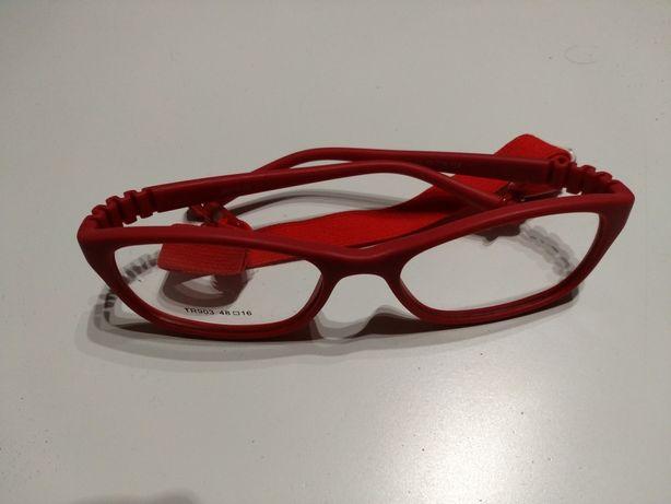 Oprawki okularowe dla dziecka, elastyczne