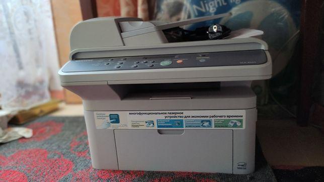 МФУ лазерный принтер sumsung scx-4321