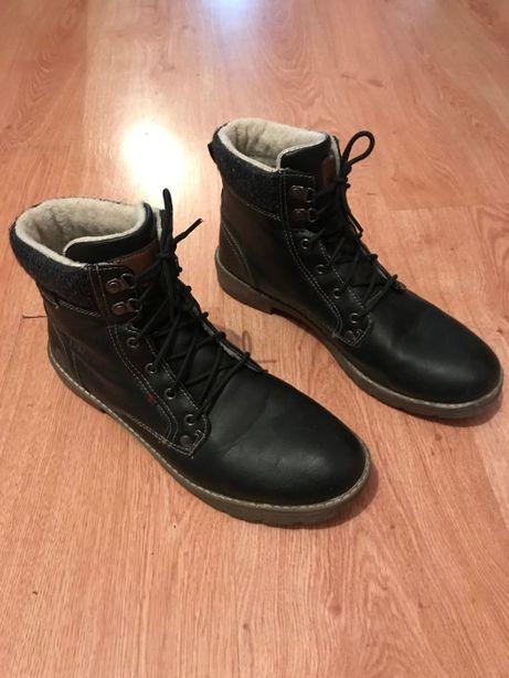 Полу-Ботинки кожа 43размер Осень-Зима