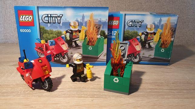 LEGO 60000 Пожарный на мотоцикле