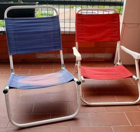 2 cadeiras de praia