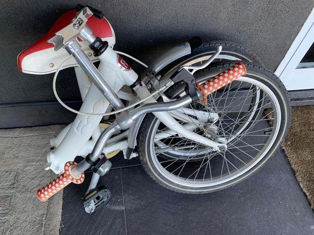 Bicicleta dobravel Fiat 500