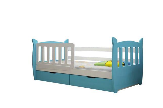 Pojedyncze łóżko MILKY z materacem w cenie ! PROMOCJA