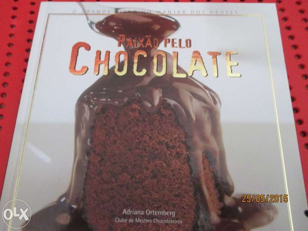 Livro - Paixão pelo chocolate - Adriana Ortemberg - (novo)