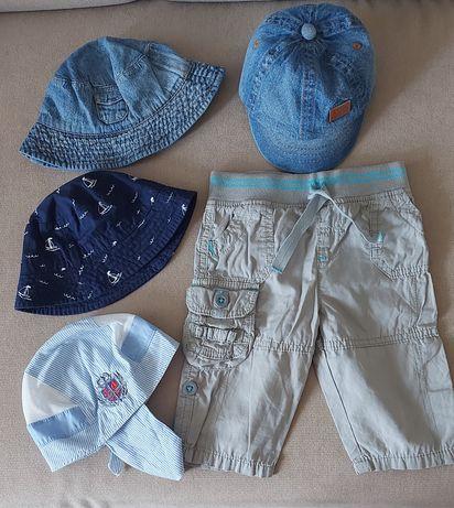 Летние панамки и штанишки для малыша