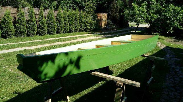 Łódka drewniana łódź