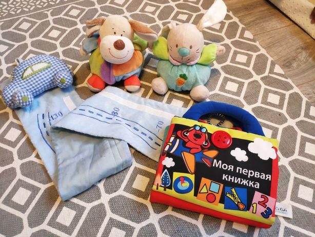 0+ Мягкая книга Развивающие игрушки Ростомер
