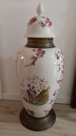 Pote porcelana Chinesa anos 70